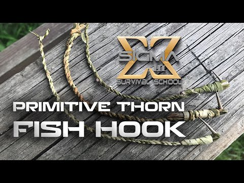 Primitive Thorn Fish Hook Leader Line