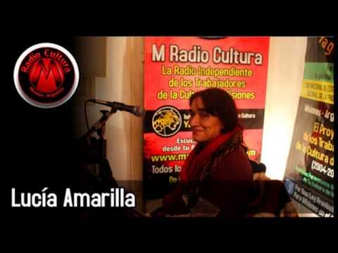 LUCIA AMARILLA CON OLE BRASIL EN M RADIO CULTURA