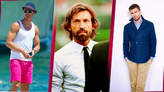Top 30 most elegant and handsome football players in the world