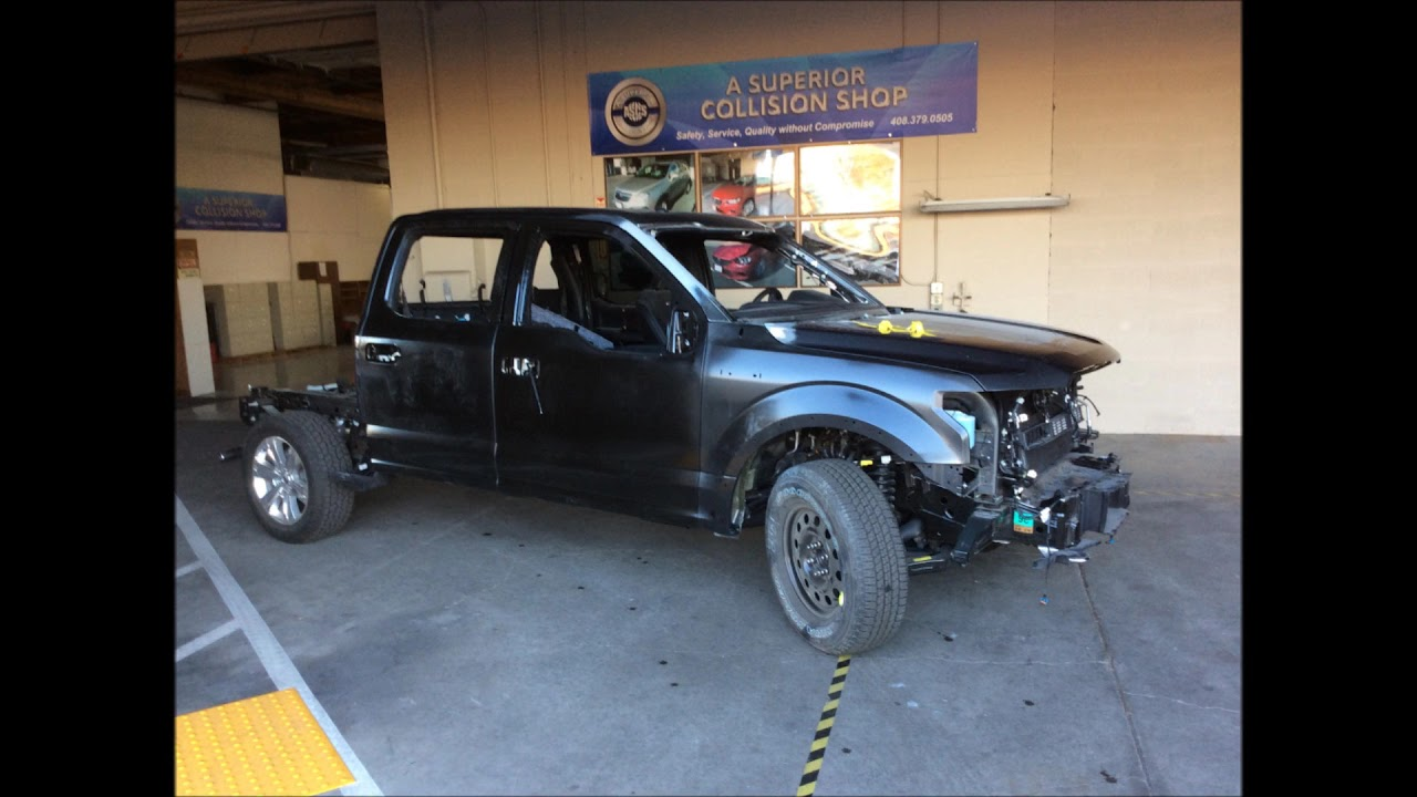 Ford Repair Shop >> Aluminum Body Ford F 150 1 of 24 Overview of Collision Repair - YouTube
