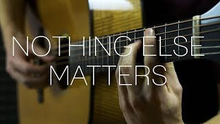 Metallica - Nothing Else Matters - Fingerstyle Guitar Cover