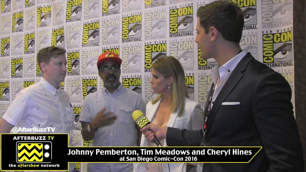 Download Johnny Pemberton, Tim Meadows, & Cheryl Hines (Son of Zorn) at San Diego Comic-Con 2016