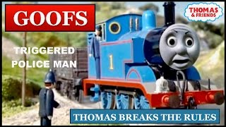 Goofs Found In Thomas Breaks The Rules (All Of The Mistakes)