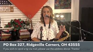LIVE!  Mollie B & Ted Lange from their home studio!  8-11-2020
