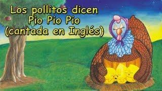 Los pollitos dicen Pio Pio Pio (En Inglés)