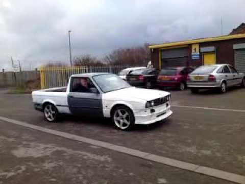 Bmw E30 Pick Up Truck Test Run Round The Yard Youtube