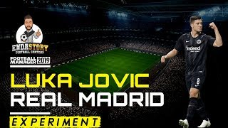 Luka Jovic signs for Real Madrid - Football Manager Experiment