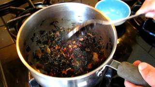 Cooking - Canadian Wild Rice With Maple Sirop And Cranberry 02, Serve