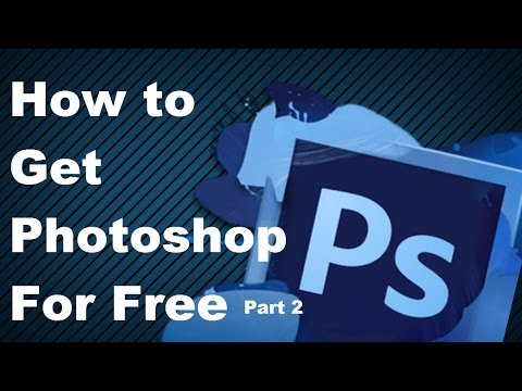 HOW TO GET PHOTOSHOP FOR FREE!|LEGALLY!|WINDOWS 8,10, AND MAC|PART 2