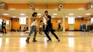 Urban Bachata - Reda & Nora - stage Break the LATIN Rules SMS - juin 2013