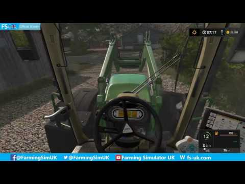 Coldborough Park Farm Lakeview Estate Carting Grain! FS-UK Official Livestream (10)