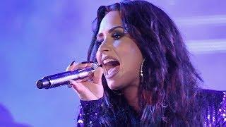 Demi Lovato Back In The Studio RECORDING NEW Music Post Rehab!