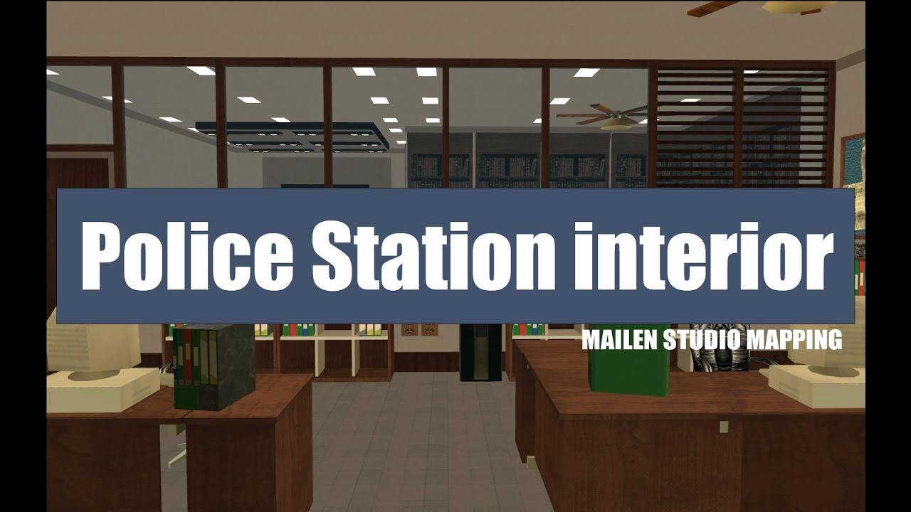 Endera Role Play Police Station Interior