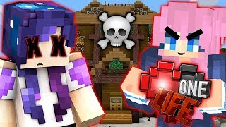 I DIED IN LIZZIE'S DANGER HOUSE | Ep. 20 | One Life Minecraft SMP
