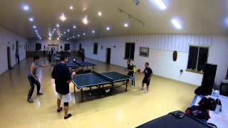 Ping Team Doubles at the Phuoc Hue Temple