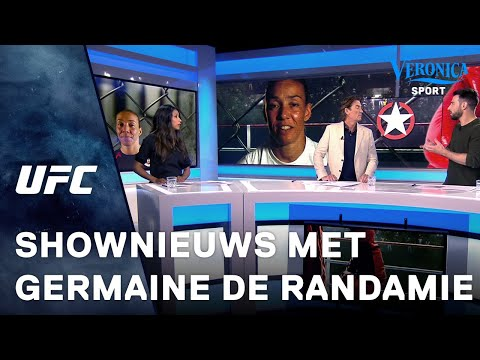 Germaine de Randamie krijgt leuke verrassing in Shownieuws item