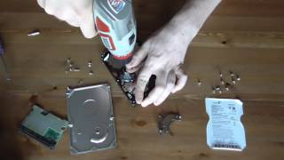 What's inside Seagate hard disk drive ST3500320AS 500 Gb