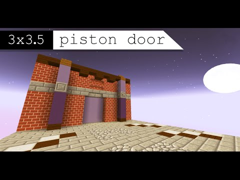 how to make a piston in minecraft 1.8 3