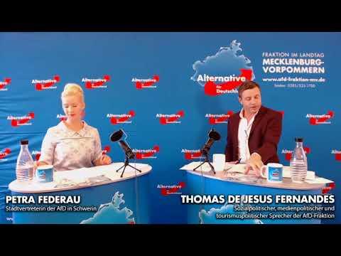 Livestream der AfD-Fraktion mit Petra Federau und Thomas de Jesus Fernandes