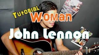 Como tocar WOMAN - John Lennon - Guitarra Acustica (HD) Tutorial