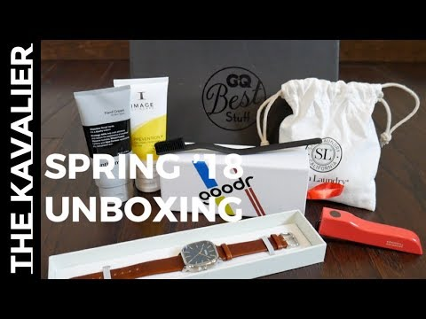 GQ Best Stuff Box Spring/Summer 2018