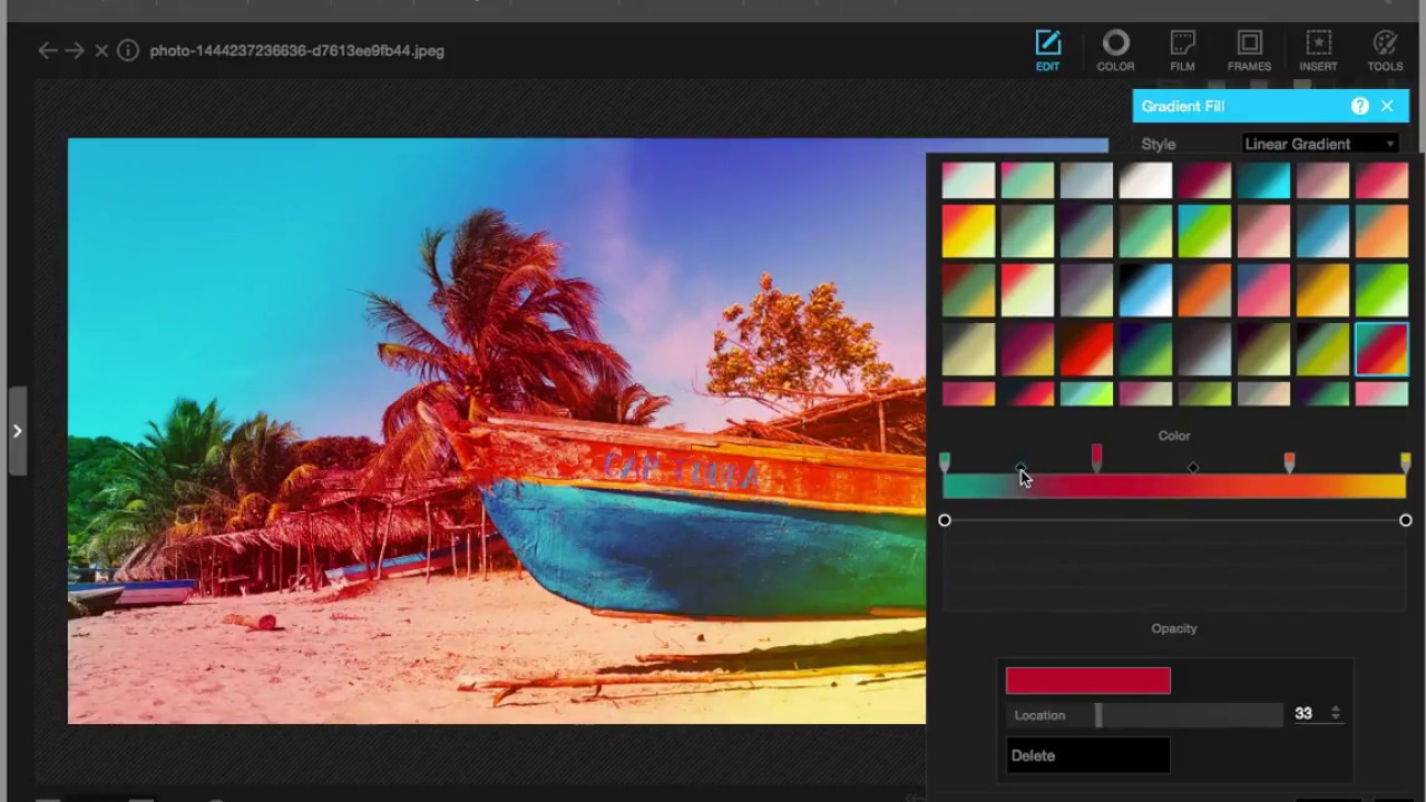 PhotoScape for Windows 10 has a range of useful instruments