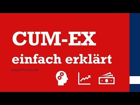 CUM EX / DIVIDENDENSTRIPPING einfach erklärt