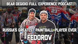 HOUSTON HEAT FEDOROV - THE BEAR DEGIDIO FULL EXPERIENCE PODCAST - RUSSIAS BEST PLAYER EVER**