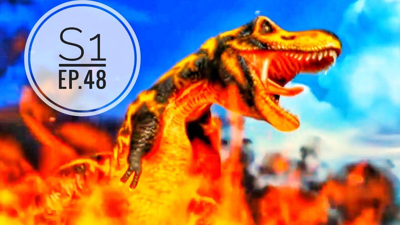 Download Dinosaur King (Hindi)Ep.48 |Season 1|One Final Move|Black T-Rex|