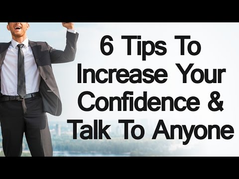 How to be confident when meeting new people
