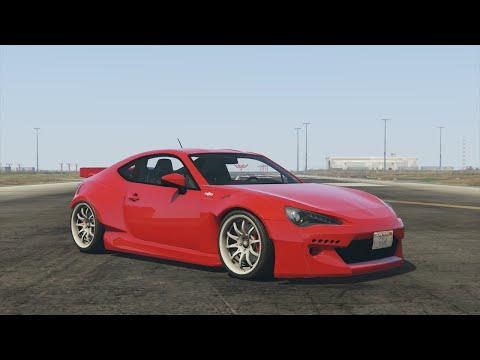 GTA 5 - Airport Drift Montage (Rocket Bunny GT86)