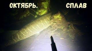 Подводная охота Октябрь Сплав