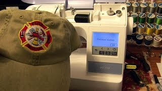 Gambar cover How to embroider a hat with a Brother PE-770-Also PE800 & SE1900