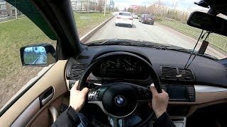 2001 BMW X5 POV TEST DRIVE