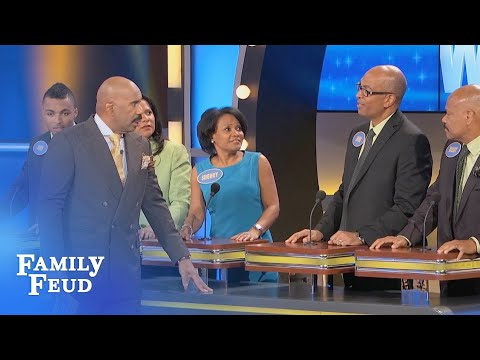 Dude, she gave me her ZIP CODE!   Family Feud