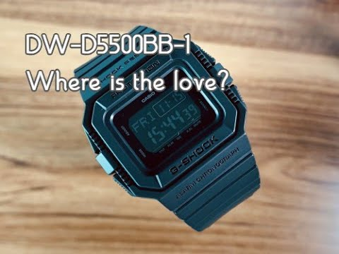 DW-D5500BB-1 More Love For This Square, Please