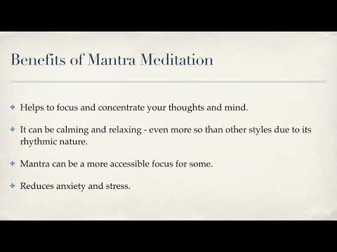 Ten-Minute Meditations for Less Stress and More Joy : Mantra Meditation