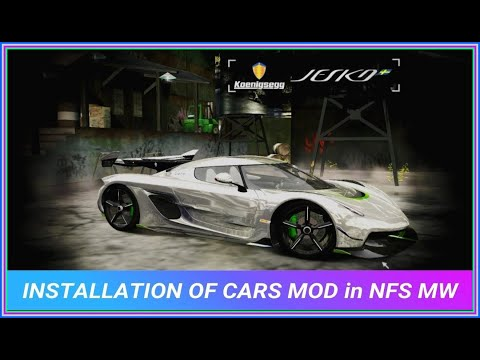 How To ADD New CARS In NFS MOST WANTED 2005 + Modloader