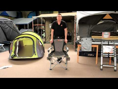 Oztent King Kokoda Chair Review Cottage Style Chairs Real Quick Youtube