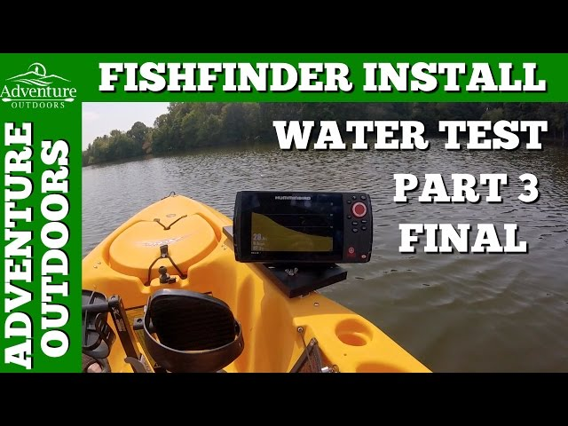 accessories - humminbird helix 7 si gps fishfinder install, water, Fish Finder