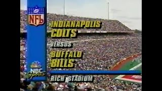 1991-10-13 Indianapolis Colts vs Buffalo Bills