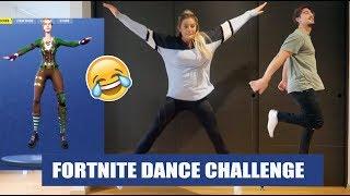 FORTNITE DANCES CHALLENGE // FAIL