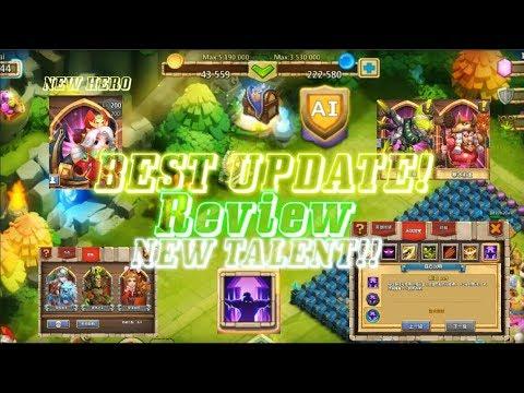 New Update Review - Phoenix Hero, 3 New Talent, New Pet - Castle Clash