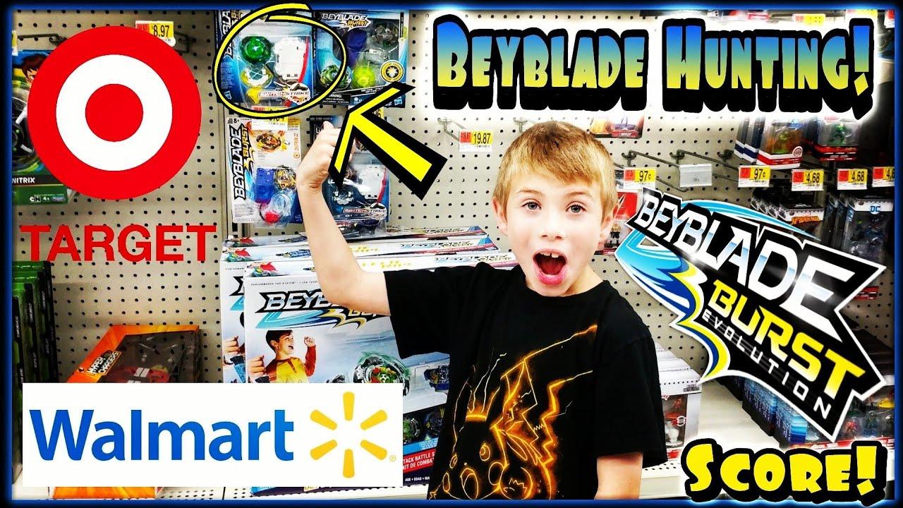 Beyblade Burst Toy Hunting at Target and Walmart | Fafnir F3 Evolution  Hasbro SwitchStrike Unboxing