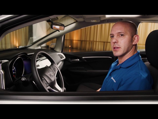 2017 Honda Fit Tips & Tricks: Rearview Camera