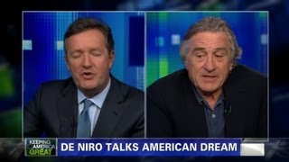 Robert De Niro on Mitt Romney