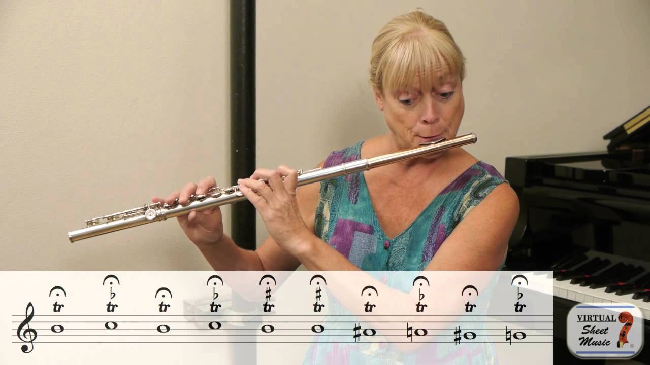 How to Play Trills on the Flute - Best Trill Exercises