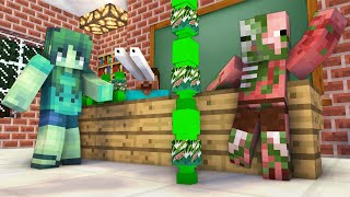 Monster School  BREW NG SLENDERMAN CHALLENGE   Minecraft Animation