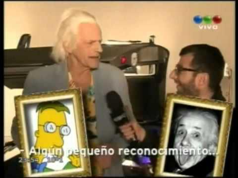 Christopher Lloyd en CQC Argentina (04-09-2011)
