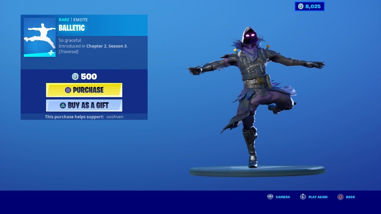 BALLETIC EMOTE *NEW* FORTNITE ITEM SHOP UPDATE NOW JULY 23 ...